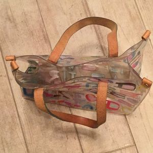 Dooney & Bourke Bags - Donney & Bourke Clear Small Tote